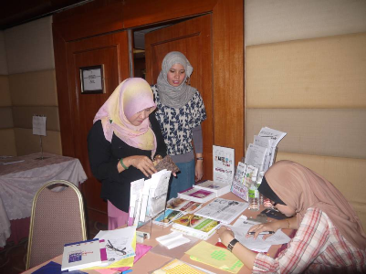 One of the participants bought books published by CaRE